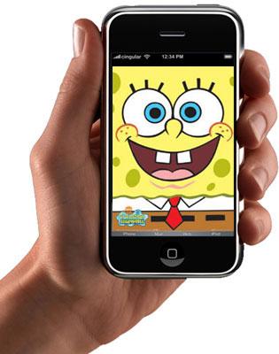iphone-spongebob
