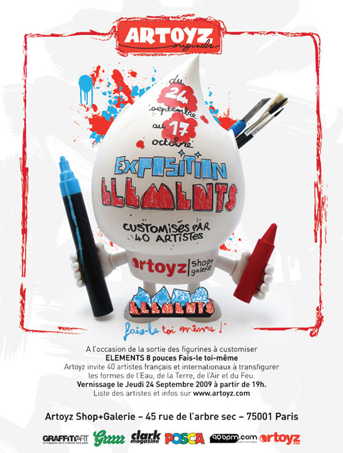 elements diy expo artoyz