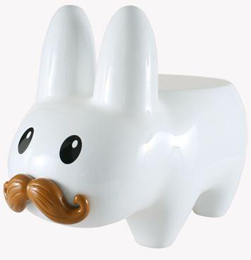 tabouret labbit moustache