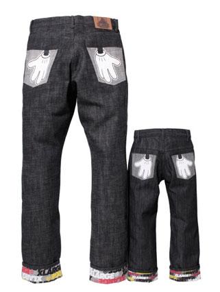 xlarge x disney jeans
