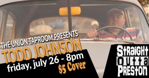 todd johnson stand up comedy union taproom