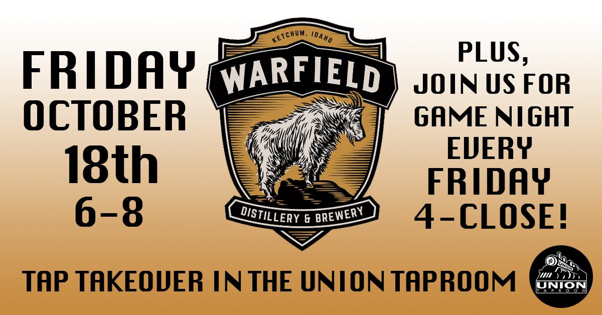 warfield brewery at the union taproom bar and grill