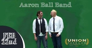 Aaron Ball at Union Taproom