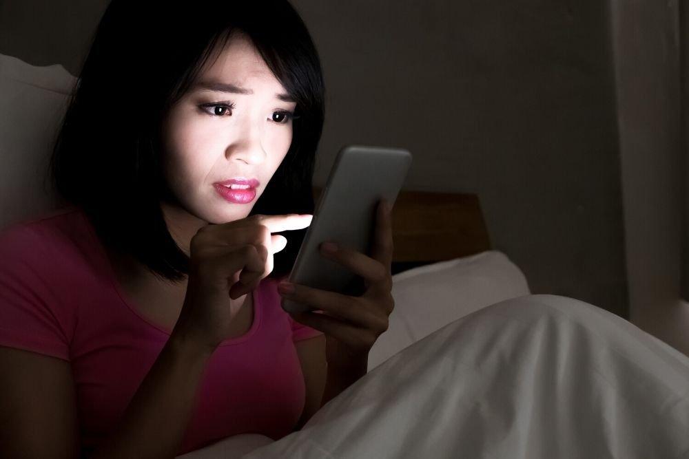 Screen Time Disrupts Sleep