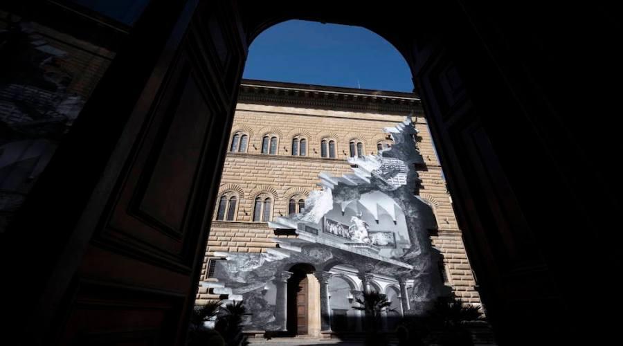 Firenze illusione ottica