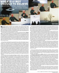 New article by Jury Judge about Michael Horn's second presentation at NAU.