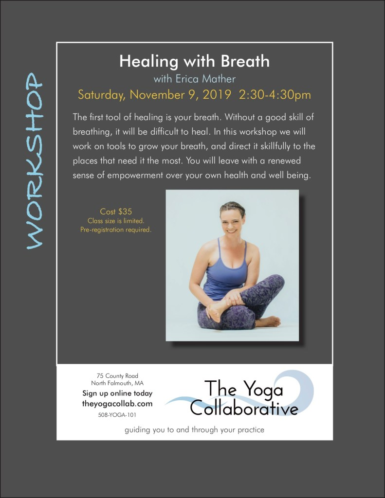 Erica Mather Healing with Breath workshop