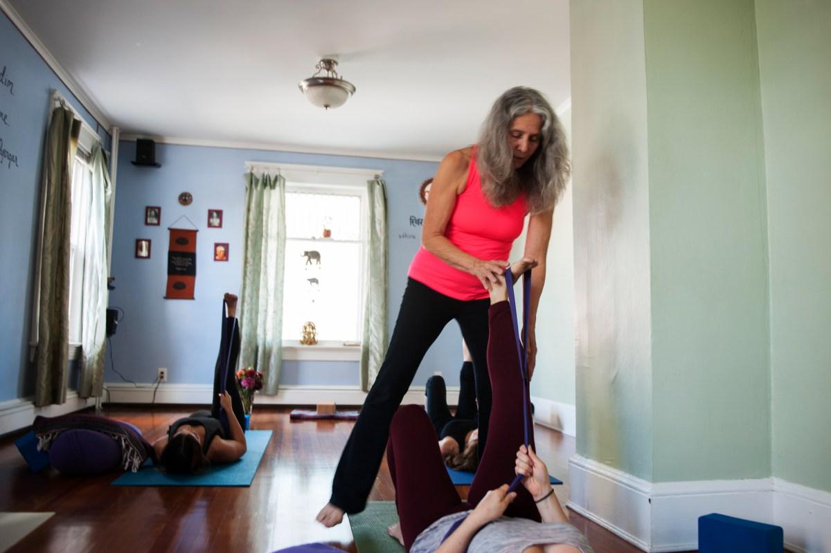sally delmerico, restorative yoga