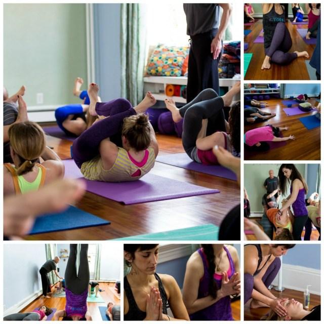 The Yoga House Playful Studio Collage