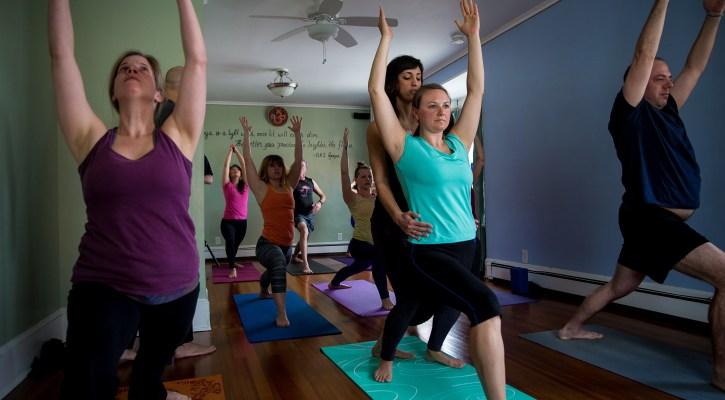 House Flow Class, yoga, kingston, ny