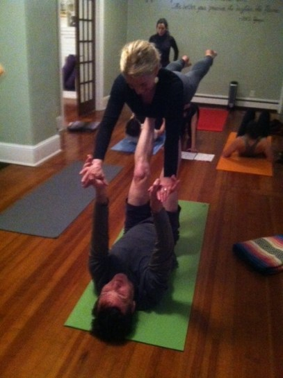 AcroYoga at The Yoga House, Yoga Kingston, NY Hudson Valley