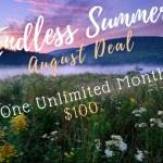 august yoga deal