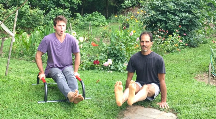 michael stein, yoga, calisthenics, l sit