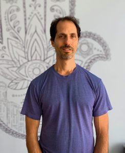 Michael Stein bio img pic, yoga