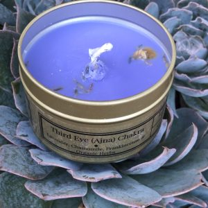 Third Eye Chakra Soy Candle