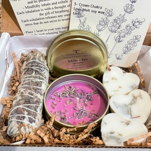 Relax Your 3rd Eye Lavender Curated Aroma Box