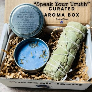 Eucalyptus Smudge and Mint Soy Candle Curated Box | Chakra | Aromatherapy