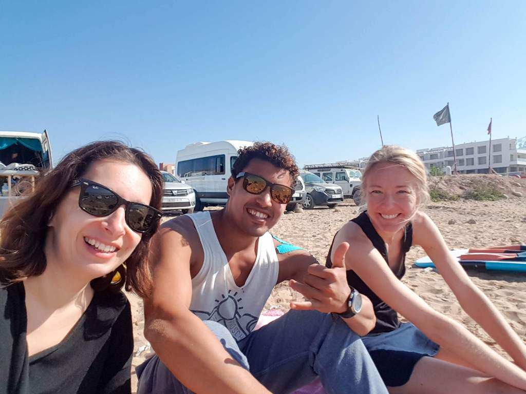 yoga and surf camp in Morocco