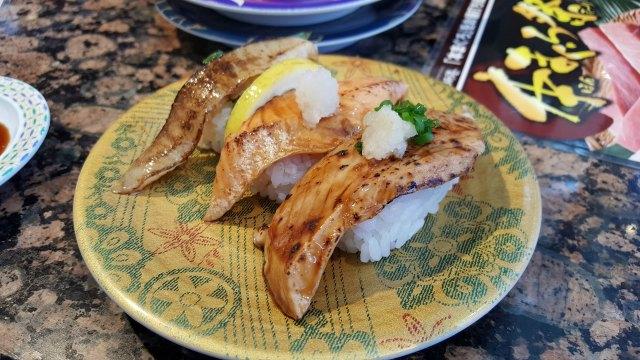 Spending Money Per Day in Japan - Sushi