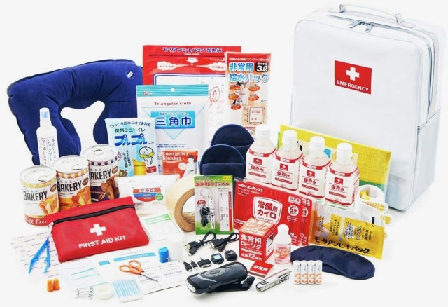 Earthquake Grab Bag Contents - Japan