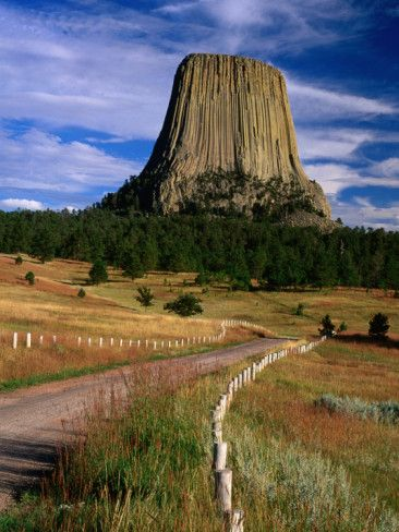 Wyoming, Devils Tower Facts - Natural Monument