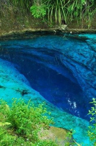 Enchanted River of Surigao Del Sur, Philippines