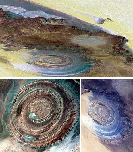 The Great Eye of Sahara in Africa, Mauritania