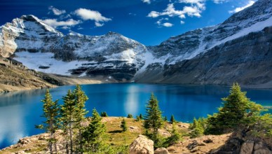 4 Gorgeous Yoho National Park BC Canada Photos You Should Check Out - Lake McArthur by Ahn Tuan Flick