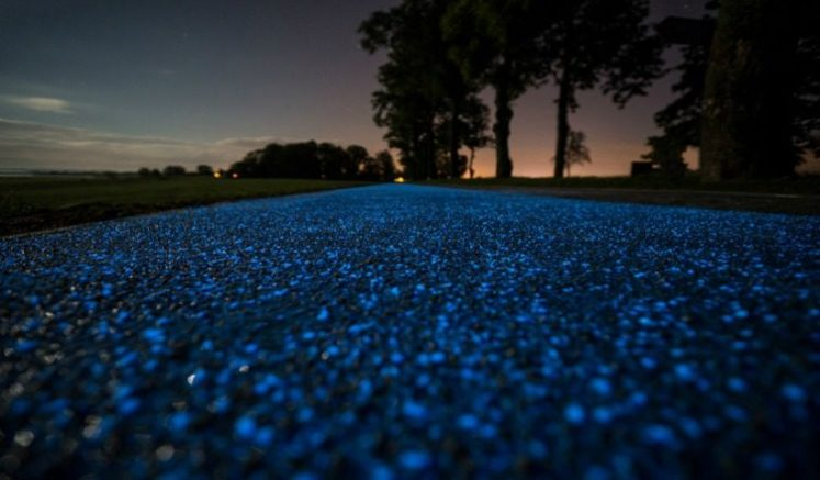 Glow-In-The-Dark Cycle Paths In Poland - Travel List