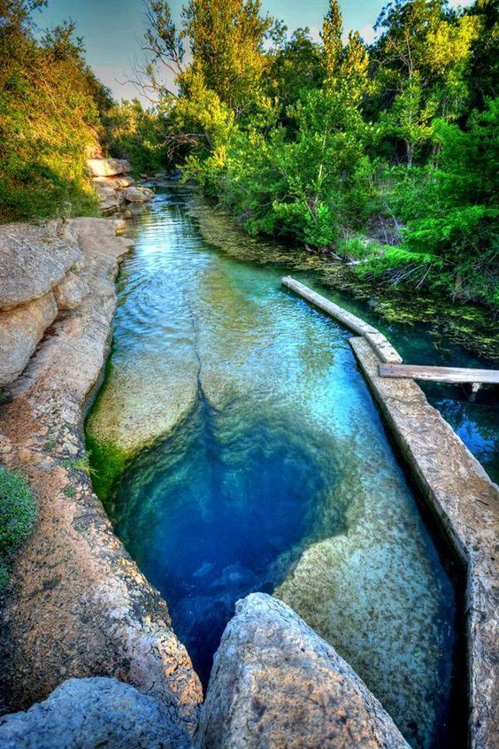 Jacobs Well, Wimberley, Texas - Travel Facts