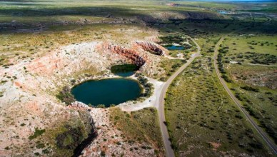 Top 6 Interesting New Mexico Bottomless Lake Facts - Photo Credits New Mexico Tourist Department