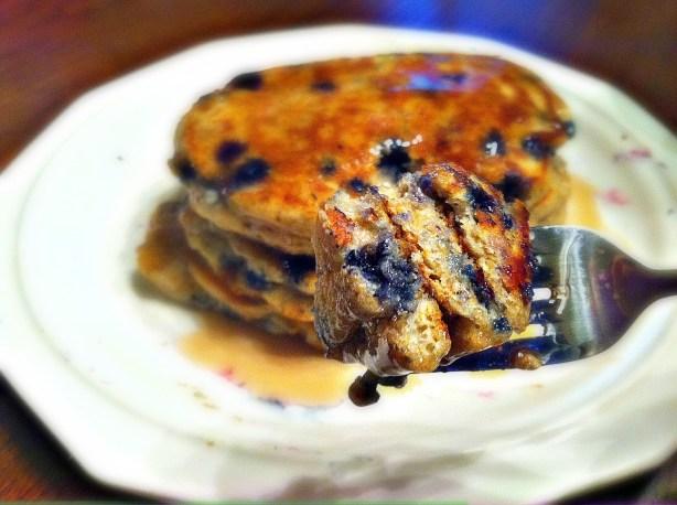 blueberry pancakes