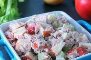 Skinny Greek Yogurt Tuna Salad