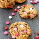 Valentine's Day Monster Cookies