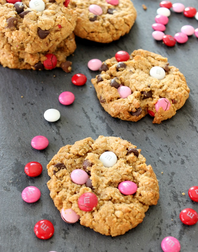 Valentines Day monster cookies 3