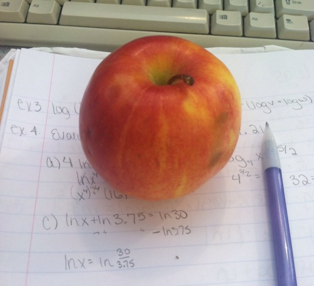 apple and calc