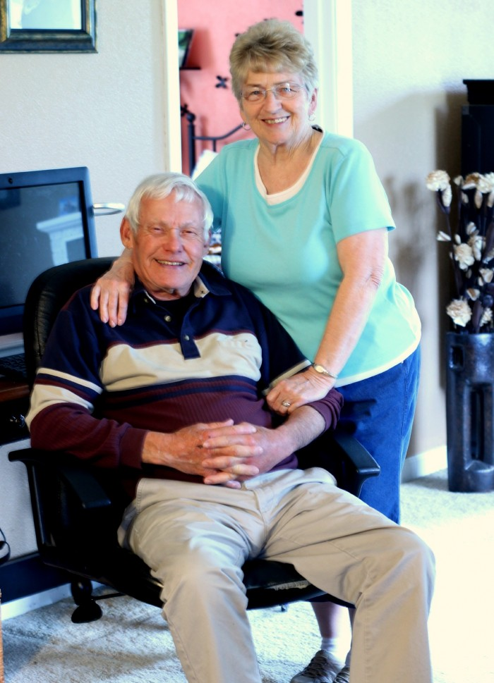 grandma + grandpa