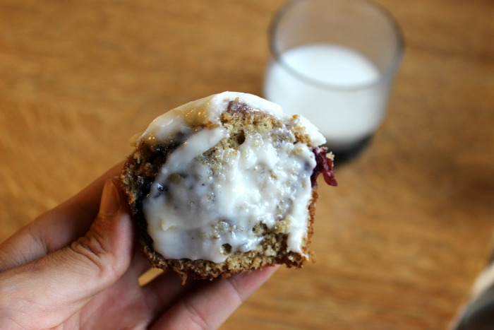 milk + muffin