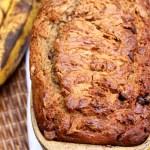 Peanut Butter Swirled Banana Bread