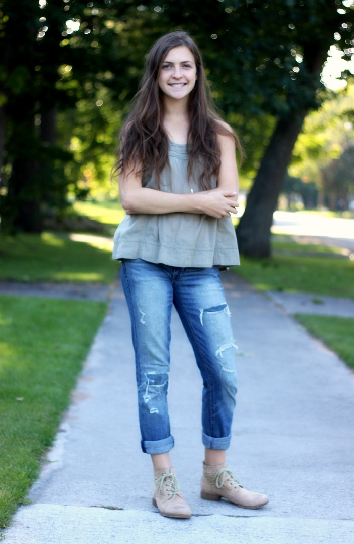 adorable boyfriend jeans