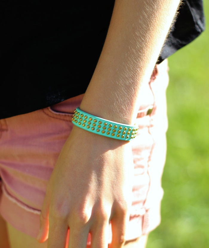 adorable studded bracelet