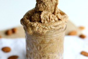 Recipe Redux: Vanilla Bean Almond Butter with Cinnamon and Sea Salt