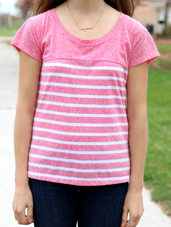 cute striped shirt