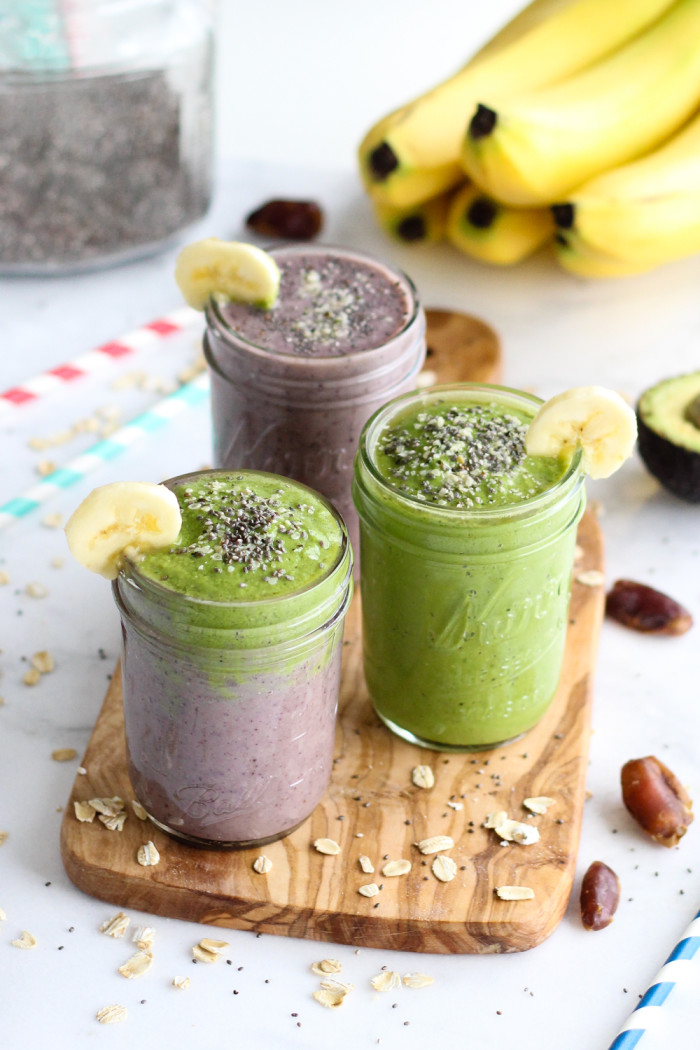 Healthy Acai and Green Warrior Smoothie - loaded with antioxidants and so good for you! | The Yooper Girl-5