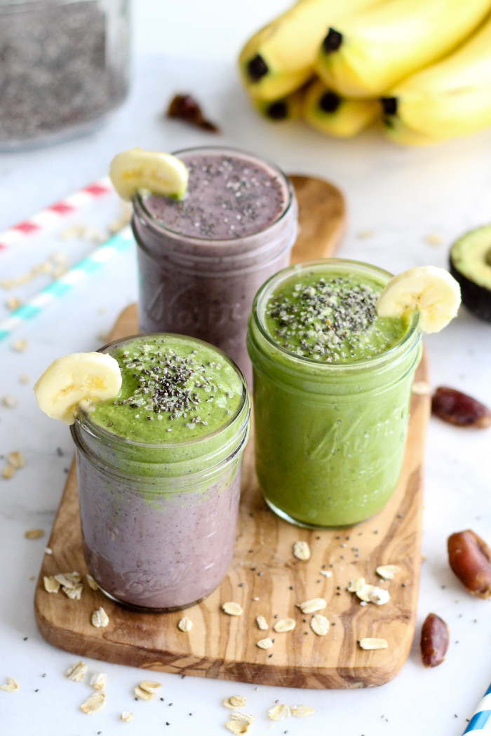 Healthy Acai and Green Warrior Smoothie - loaded with antioxidants and so good for you! | The Yooper Girl