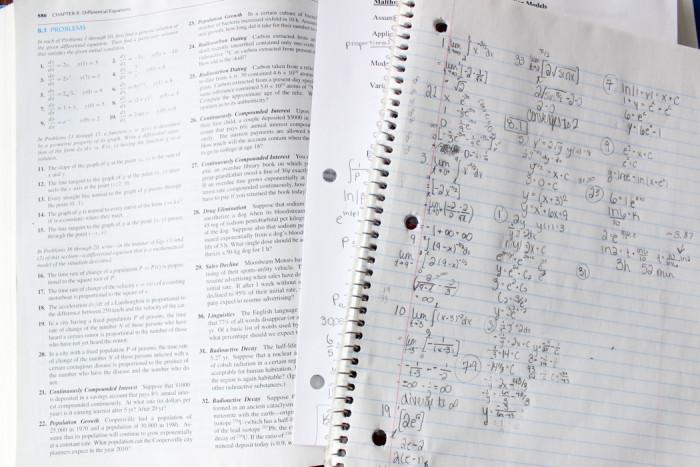 calc homework