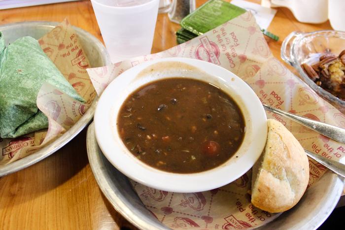 black bean soup grand traverse pie