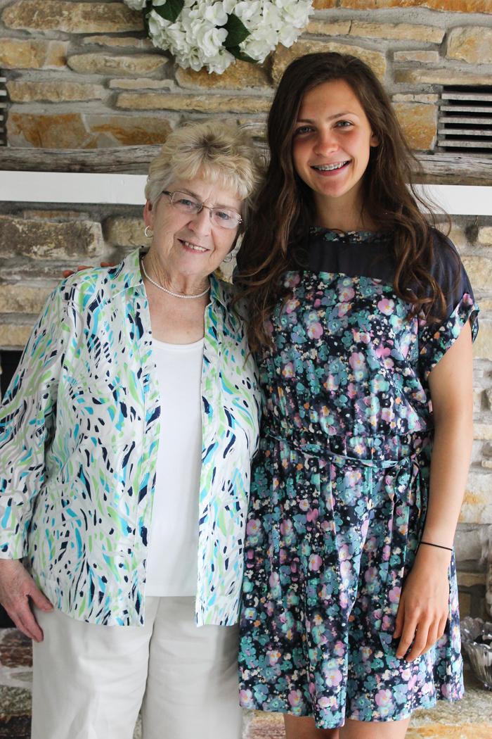 leigha and grandma