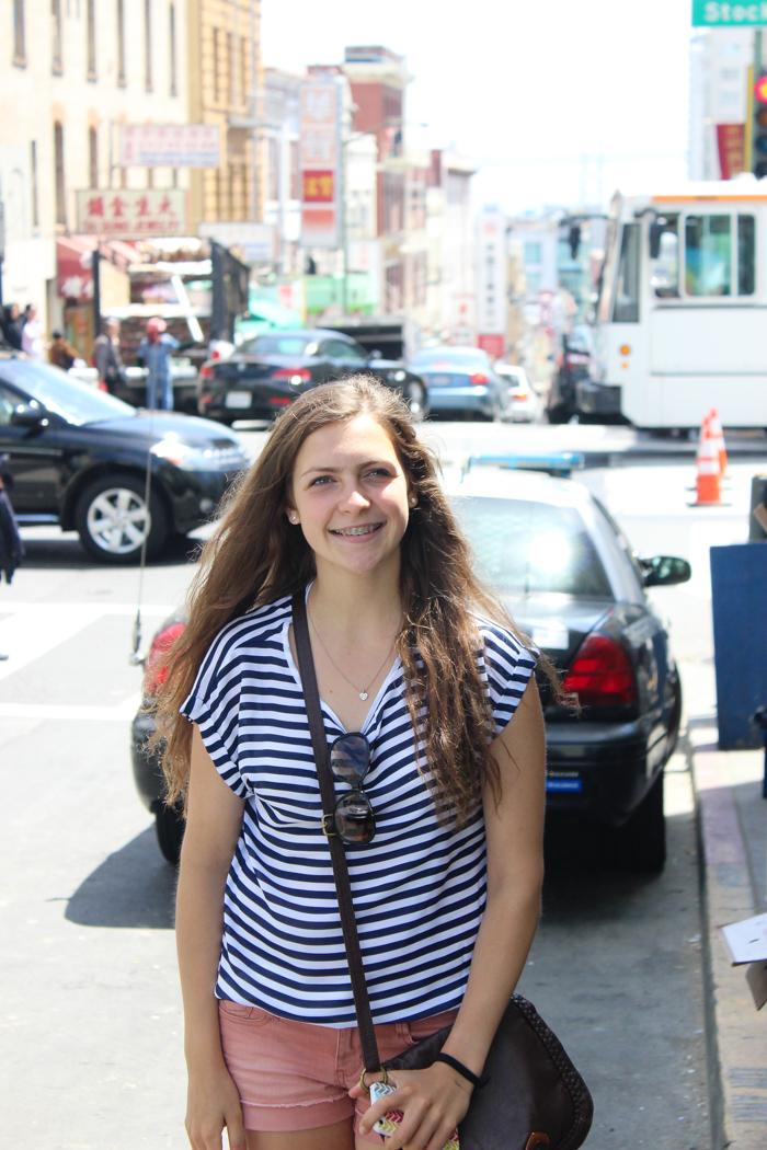 leigha in street