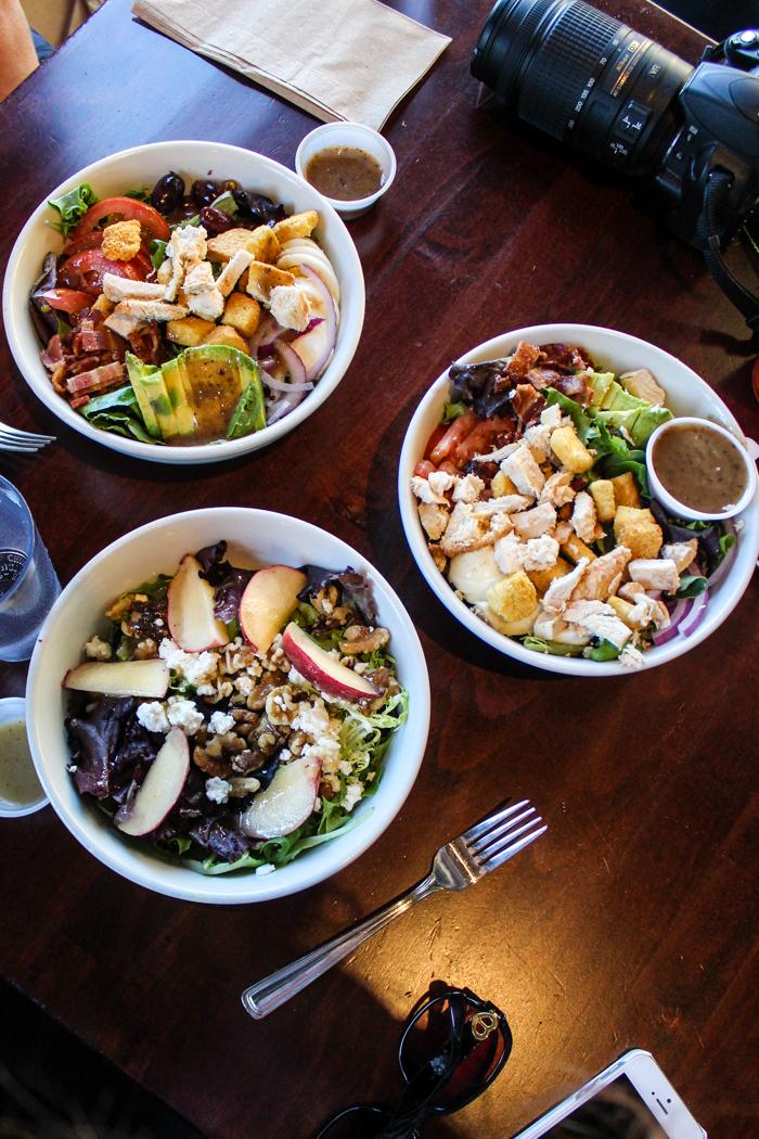 black point cafe salads
